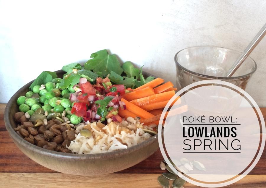 Voorhoutse lente in een Poké bowl